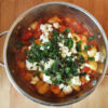 Gnocchi in Tomaten-Mozzarella-Sauce