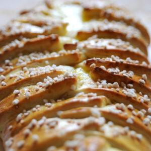 Braided Lemon Bread - Gefüllter Hefezopf