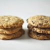 Chocolate Cookies mit weißer und dunkler Schokolade