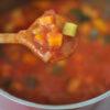 Gemüsesauce mit Paprika, Zucchini und Möhren