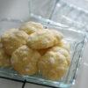 Lemon Crinkle Cookies - Zitronenkekse