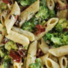 Nudelsalat mit Brokkoli und Ranch Dressing - Broccoli Pasta Salad