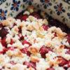 Raspberry Crumble - Gebackene Himbeeren mit Streuseln