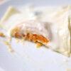 Süßkartoffel-Ravioli mit Gorgonzolasauce