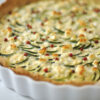 Zucchini-Quiche mit Feta und
