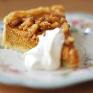 Kürbiskuchen - Pumpkin Pie