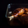 Hähnchen aus dem Ofen mit Wermut-Honig-Glasur