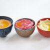 Hummus - Klassisch, mit gerösteter Paprika und Roter Bete