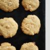 Caramel White Chocolate Macadamia Cookies