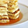 Pancakes mit Quark und Haferflocken