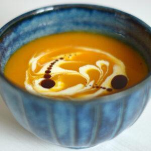 Kürbissuppe aus Hokkaidokürbis