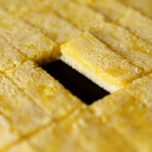 Lemon Bar Cookies - Kekse mit weichem Zitronenguss