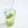 Limonade mit Gurken-Zitronen-Sirup