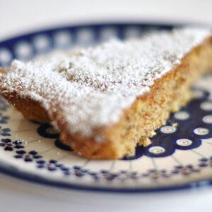 Mandel-Zitronen-Kuchen - Gató de almendra
