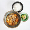 Massaman Curry mit Rindfleisch, Süßkartoffeln und Erdnüssen