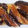 Schokoladen-Nuss-Babka - gefüllter Hefekuchen