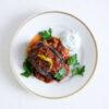 Auberginen mit Hackfleisch und Tomatensauce - Karniyarik