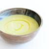 Cremige Lauchsuppe mit Olivenöl