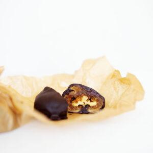 Gefüllte Feigen mit Walnüssen und Zartbitterschokolade