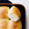 Milchbrötchen mit Tangzhong und Buttermilch