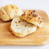 No knead Frühstücksbrötchen