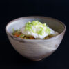 Japanisches Curry mit Udon-Nudeln und pochiertem Ei - Kare Udon