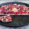 Johannisbeer-Streuselkuchen mit Sauerteig