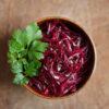 Rote Bete-Salat mit Fenchelsamen und Honig
