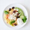 Türkisches Rührei mit Zwiebeln, Paprika und Tomaten - Menemen
